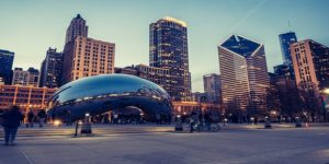Flights to Chicago, USA from $1037 return flying Air New Zealand