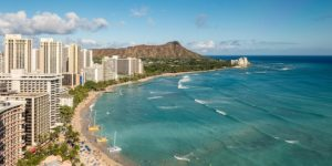 Honolulu, USA from $597 return flying Air New Zealand (SYD/MEL/BNE/OOL)