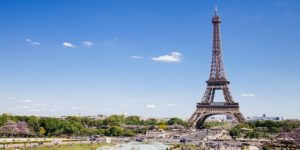 Flights to Paris, France from $923 return flying Thai Airways (SYD/MEL/PER)