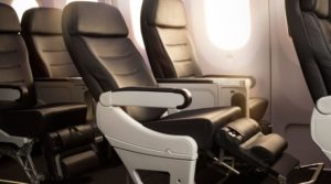 Air New Zealand Premium Economy - Seats