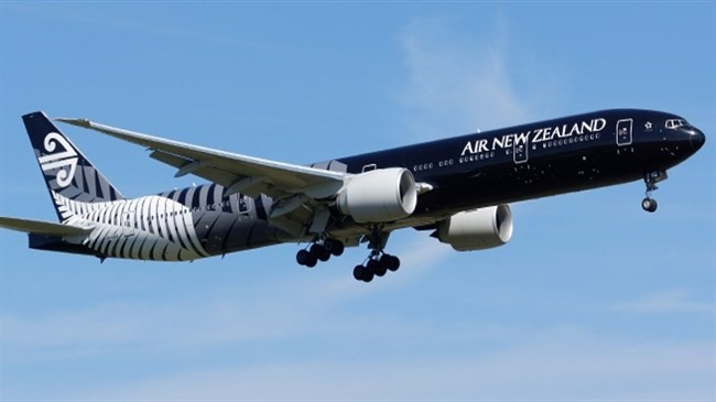Air New Zealand Premium Economy - Airplane